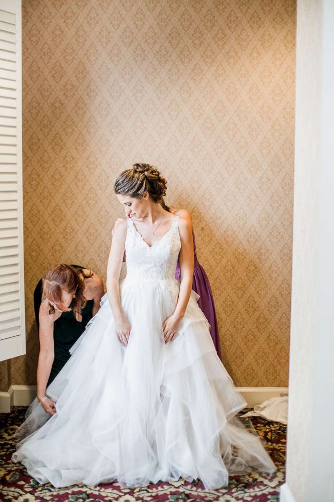 Ball Gown Wedding Dress captured by Amanda May Photos featured on Nashville Bride Guide