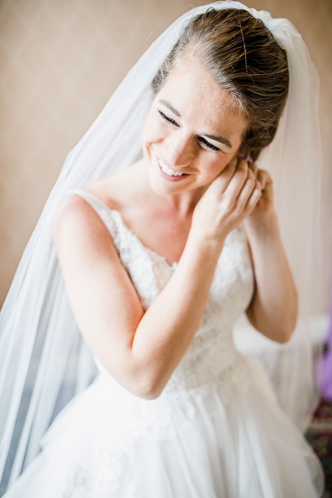 Bridal Portrait captured by Amanda May Photos featured on Nashville Bride Guide