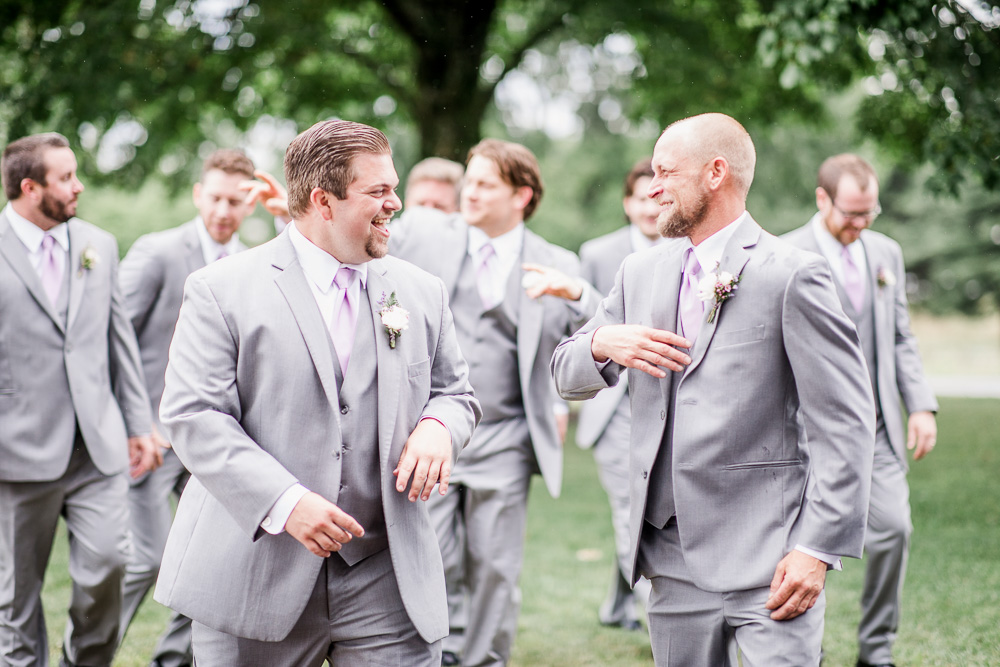 Groom and Groomsmen Photography captured by Amanda May Photos featured on Nashville Bride Guide