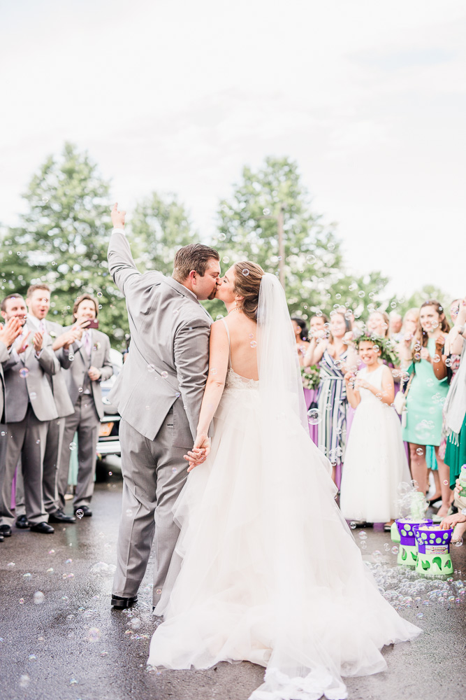 Wedding Portrait: Stones River Country Club Wedding featured on Nashville Bride Guide