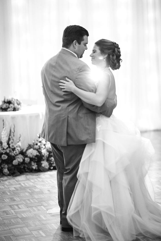 Wedding First Dance: Stones River Country Club Wedding featured on Nashville Bride Guide