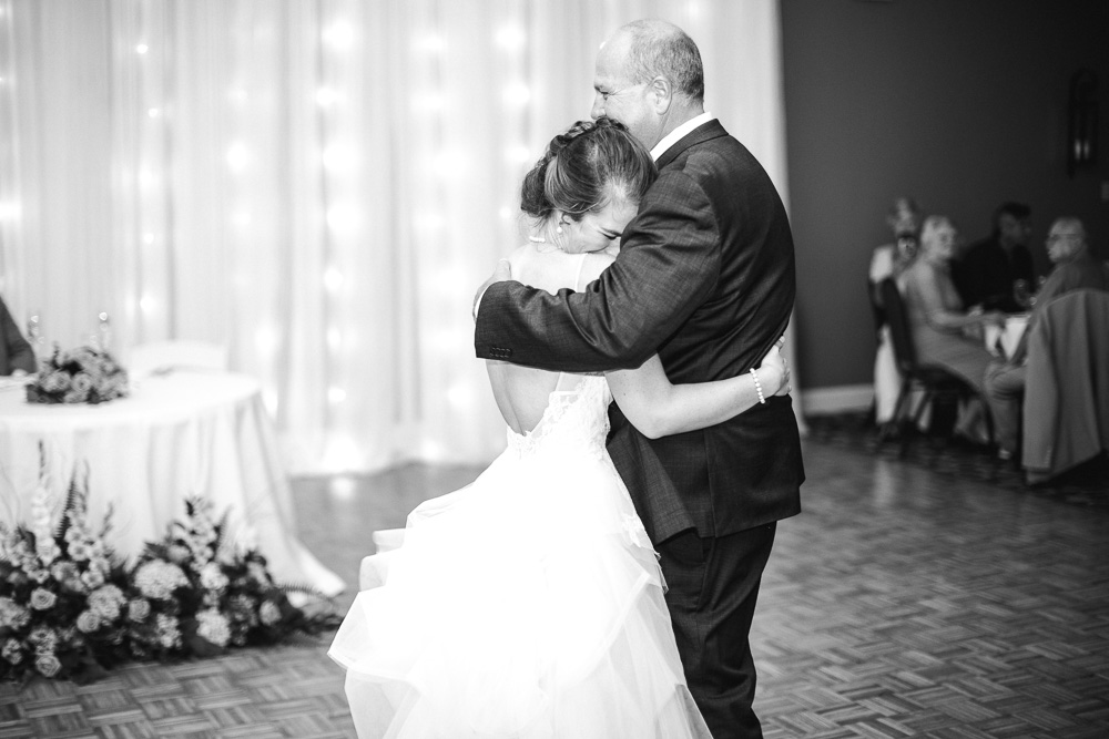 Father Daughter Dance: Stones River Country Club Wedding featured on Nashville Bride Guide