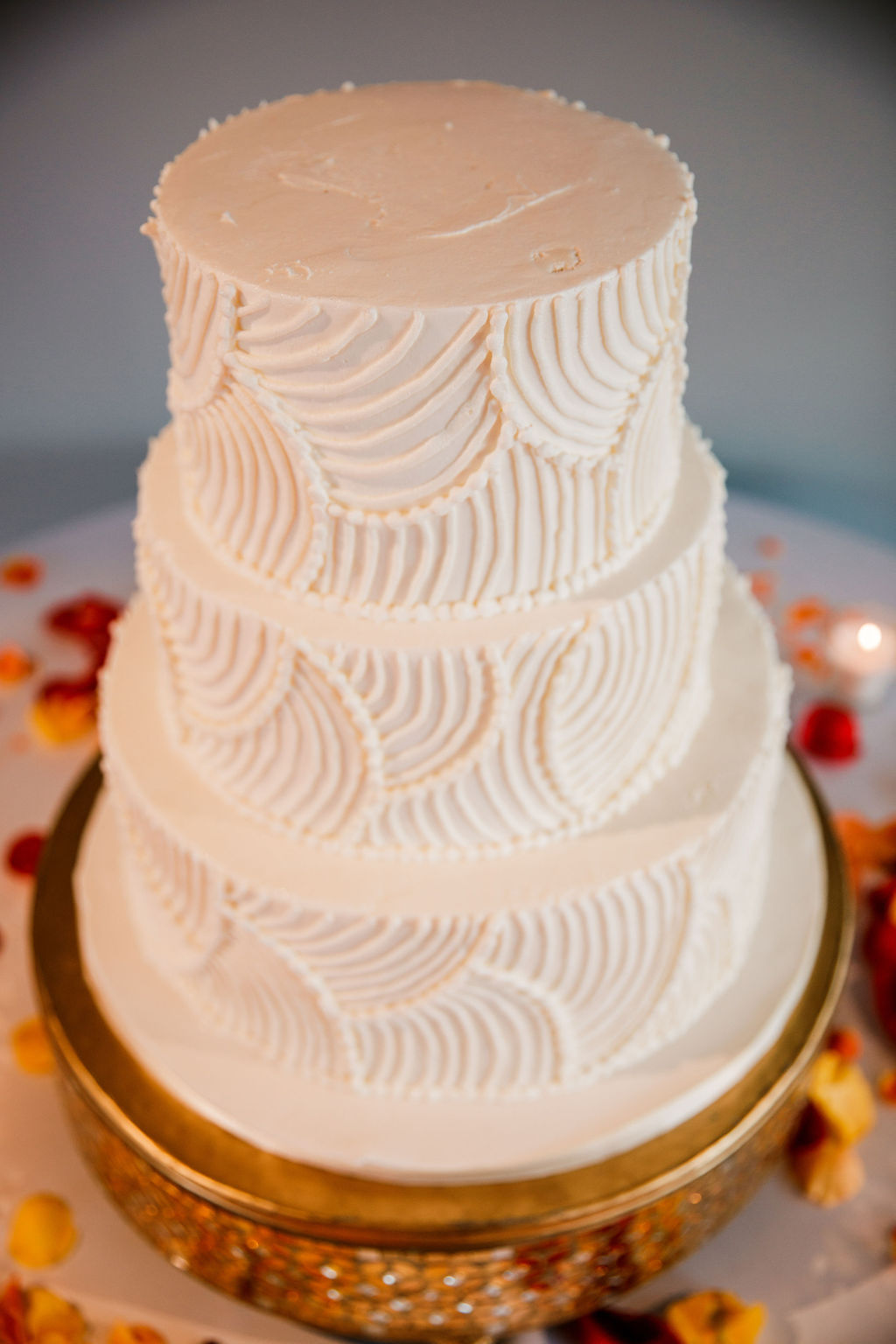 Nashville Sweets Wedding Cake: Bollywood Inspired Wedding by John Myers Photography