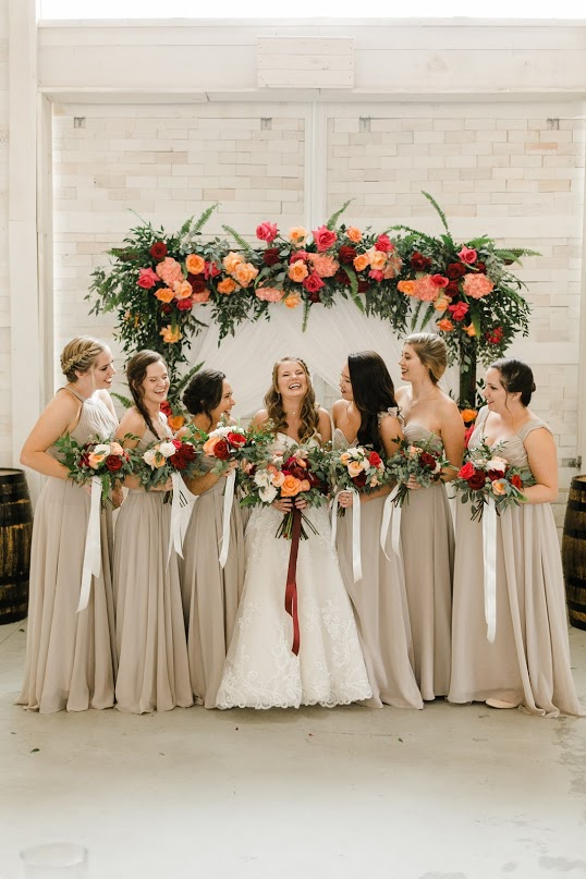 Wedding Ceremony Backdrop Inspiration from Amy & I Designs on Nashville Bride Guide