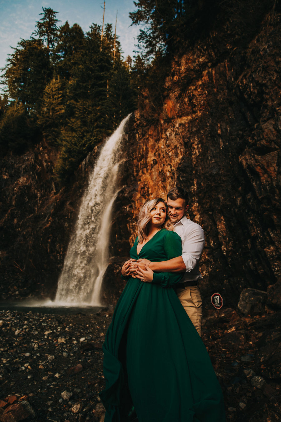 Mountain Engagement Session by Billie-Shaye Style