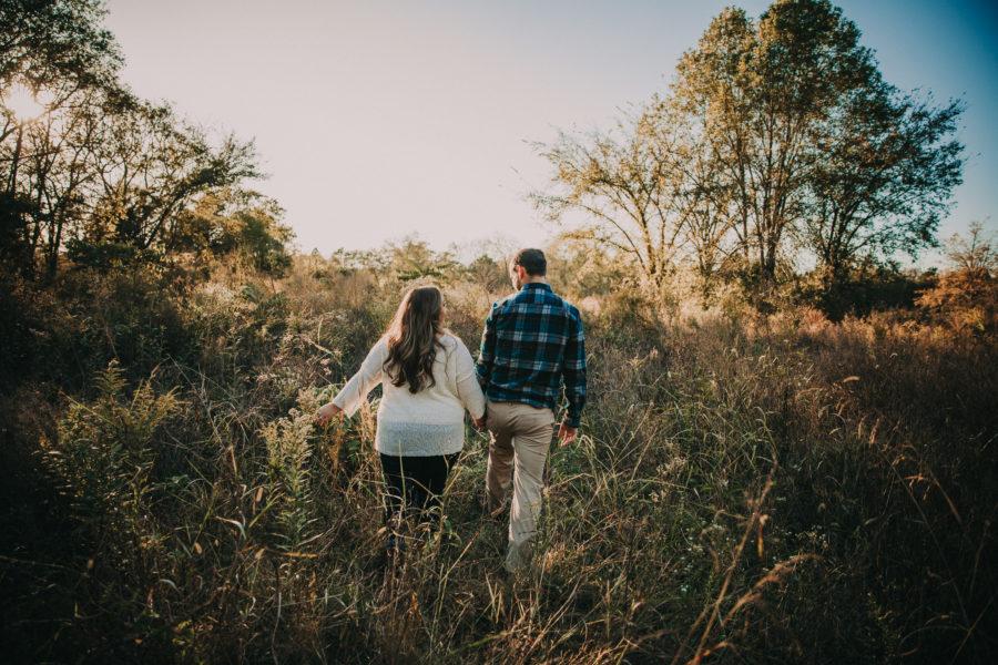 Cedars of Lebanon Park Engagement Session featured on Nashville Bride Guide
