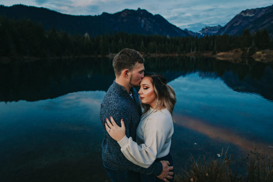 Mountain Engagement Photos featured on Nashville Bride Guide