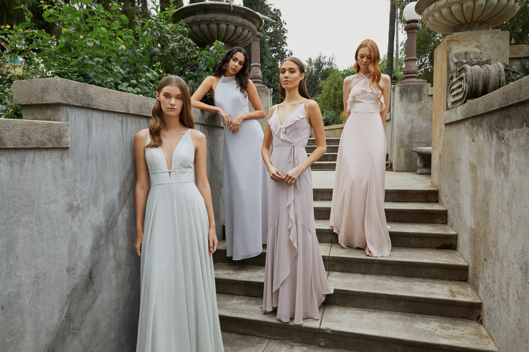 New Bridesmaid Dress Styles for 2020 at Bella Bridesmaids featured on Nashville Bride Guide