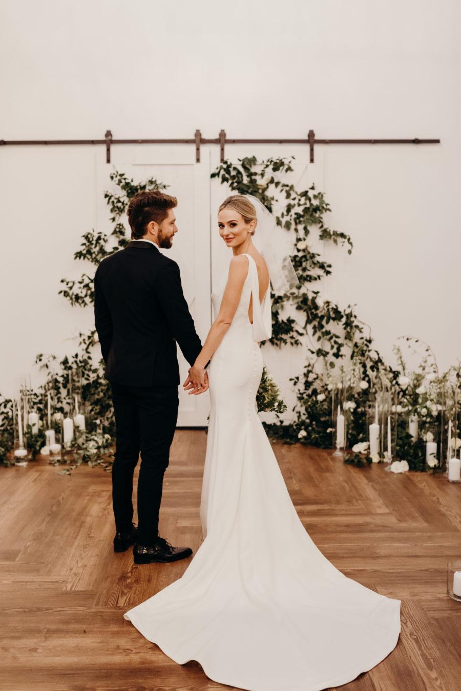 Lauren & Chris Lane's 14 TENN wedding featured on Nashville Bride Guide