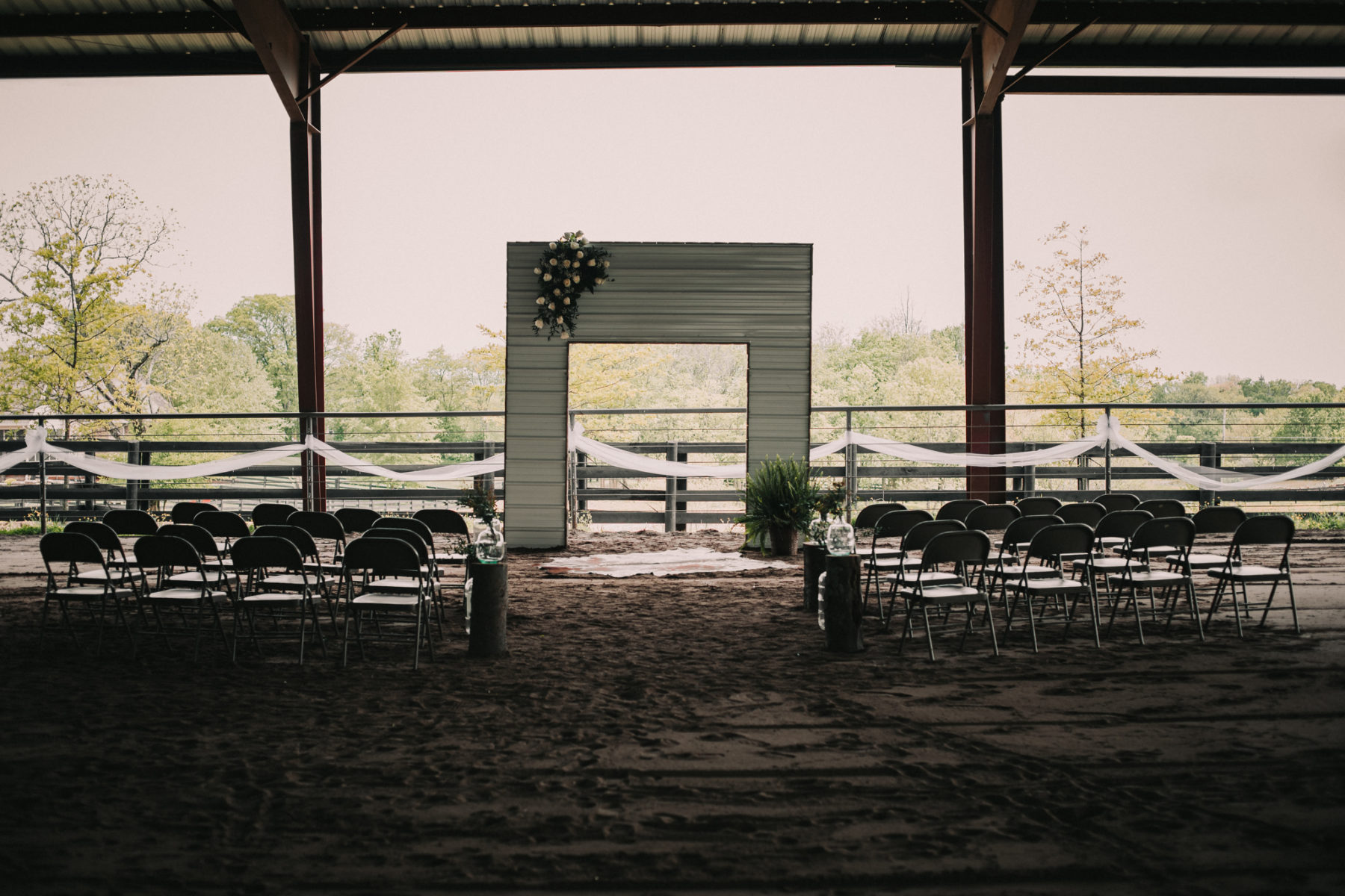 Barn Wedding Ceremony: Minimalistic Barn Wedding featured on Nashville Bride Guide
