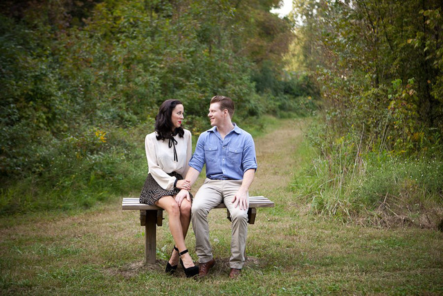 Engagement Session Ideas from Divine Images featured on Nashville Bride Guide