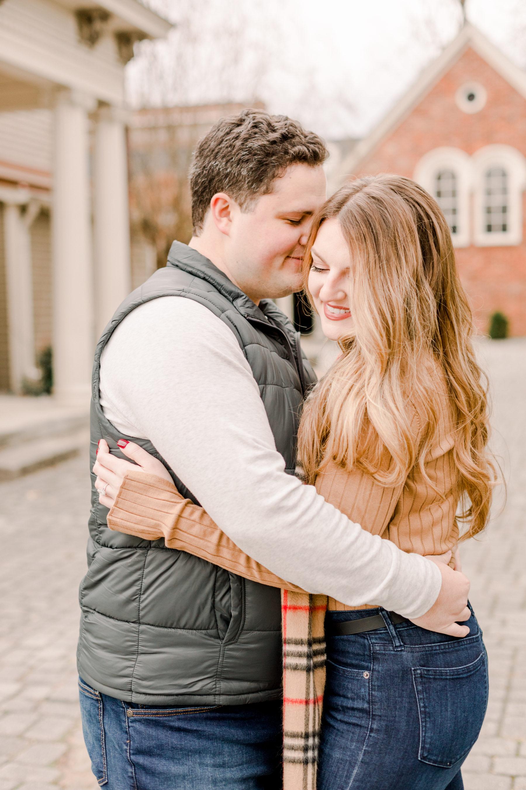 Romantic Nashville Engagement Session featured on Nashville Bride Guide