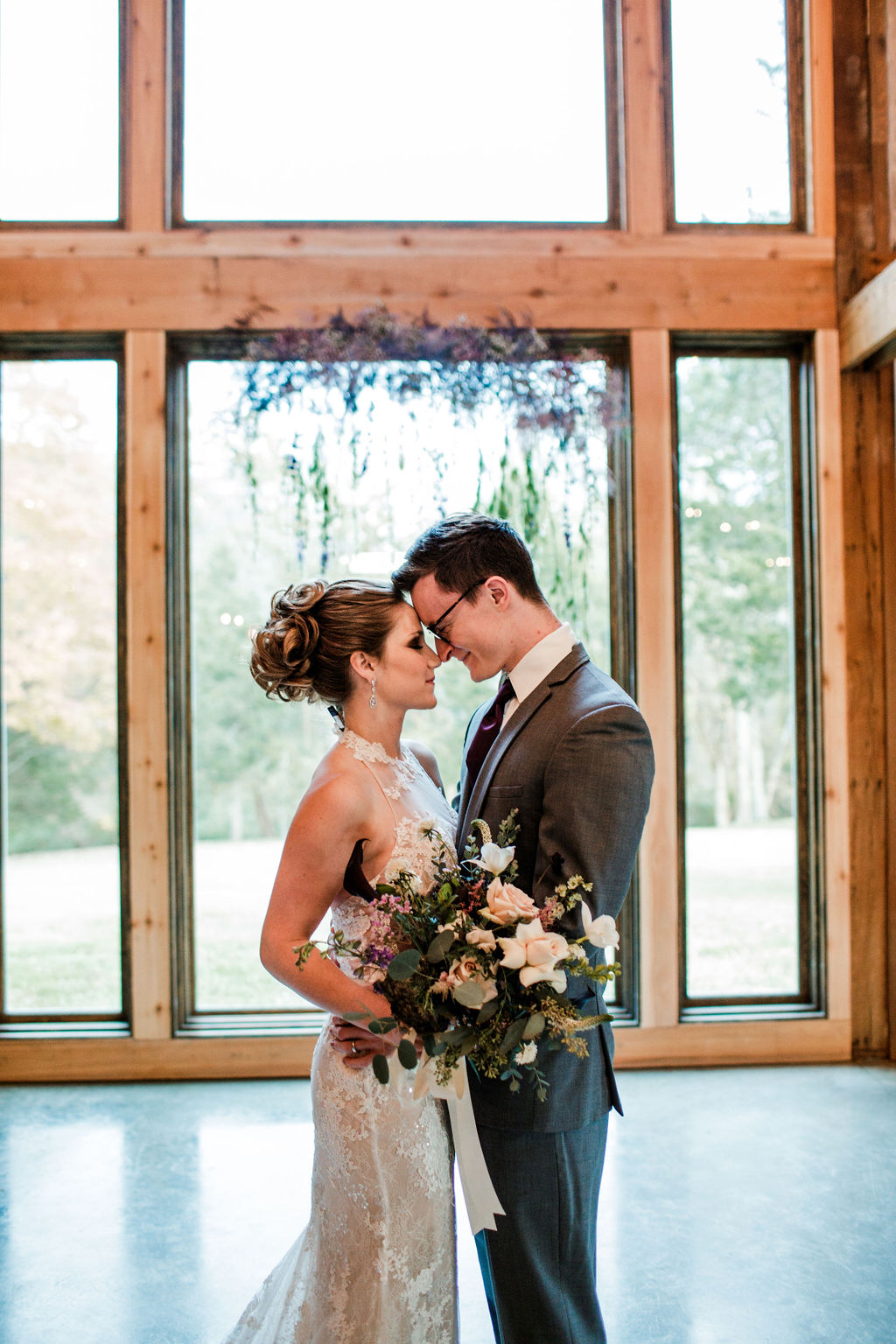Portrait by John Myers Photography: Moody Spring Styled Shoot and Cedarmont Farm featured on Nashville Bride Guide