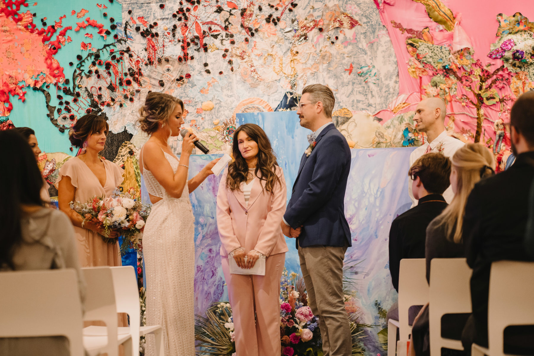 The Nashville Big Fake Wedding captured by Charlene Mann Photography