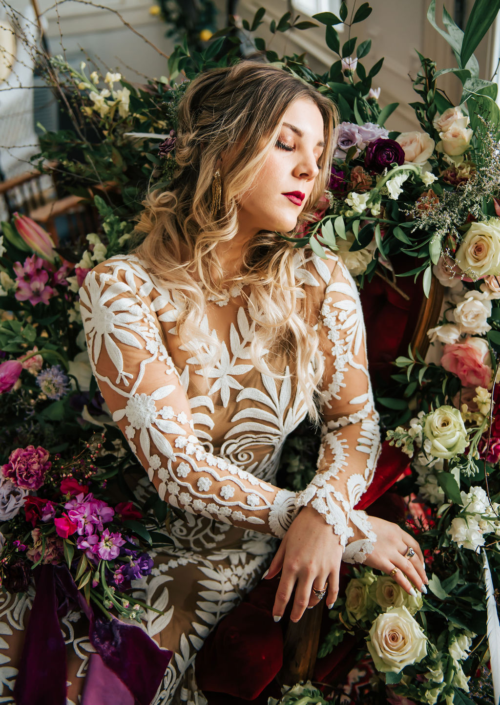 Ultra Femme Romantic Styled Shoot featured on Nashville Bride Guide