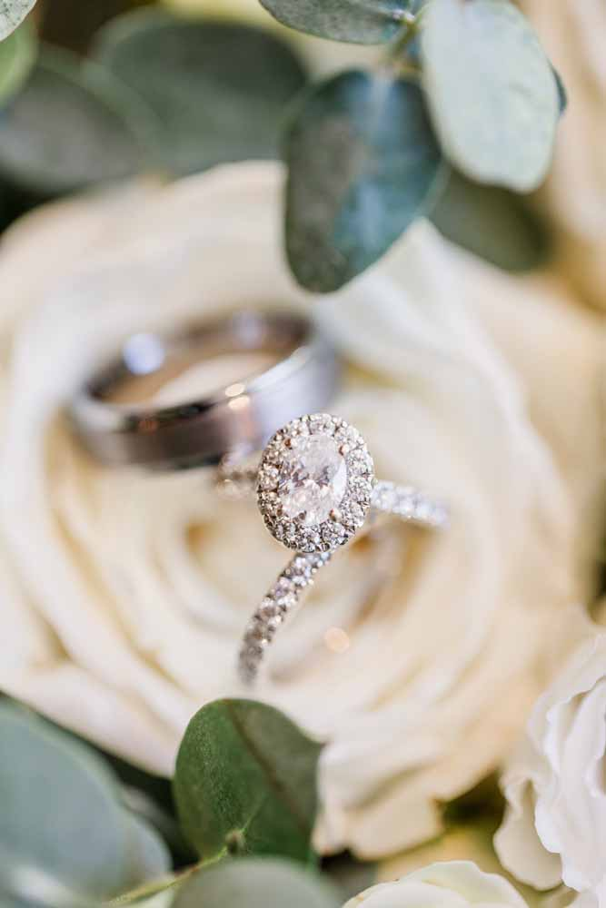 Engagement Ring: Fall Graystone Quarry Wedding featured on Nashville Bride Guide