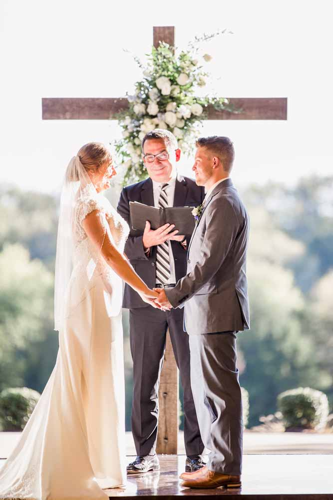 Wedding Ceremony Inspiration: Fall Graystone Quarry Wedding featured on Nashville Bride Guide