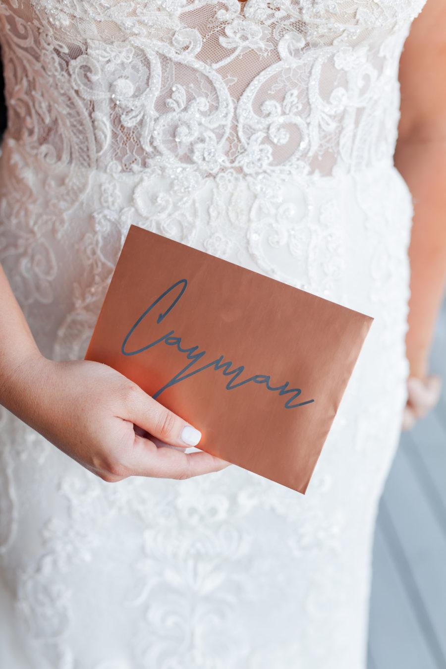 Romantic Blush & Metallic Wedding at Depot Square featured on Nashville Bride Guide