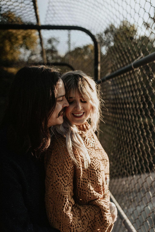 Hip Nashville engagement session featured on Nashville Bride Guide!