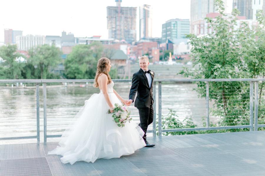 Nashville Skyline Wedding - Ashton Brooke Photography