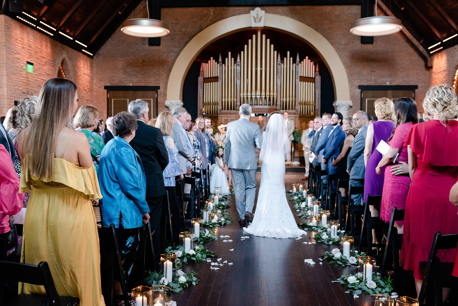 Modern and Southern Wedding at the Clementine featured on Nashville Bride Guide
