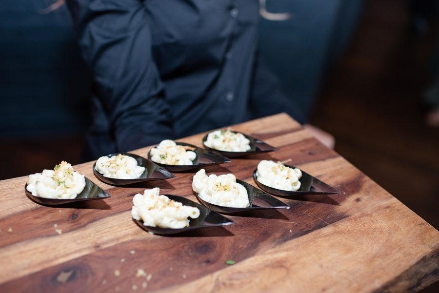 Wedding Food: Modern and Southern Wedding at the Clementine featured on Nashville Bride Guide