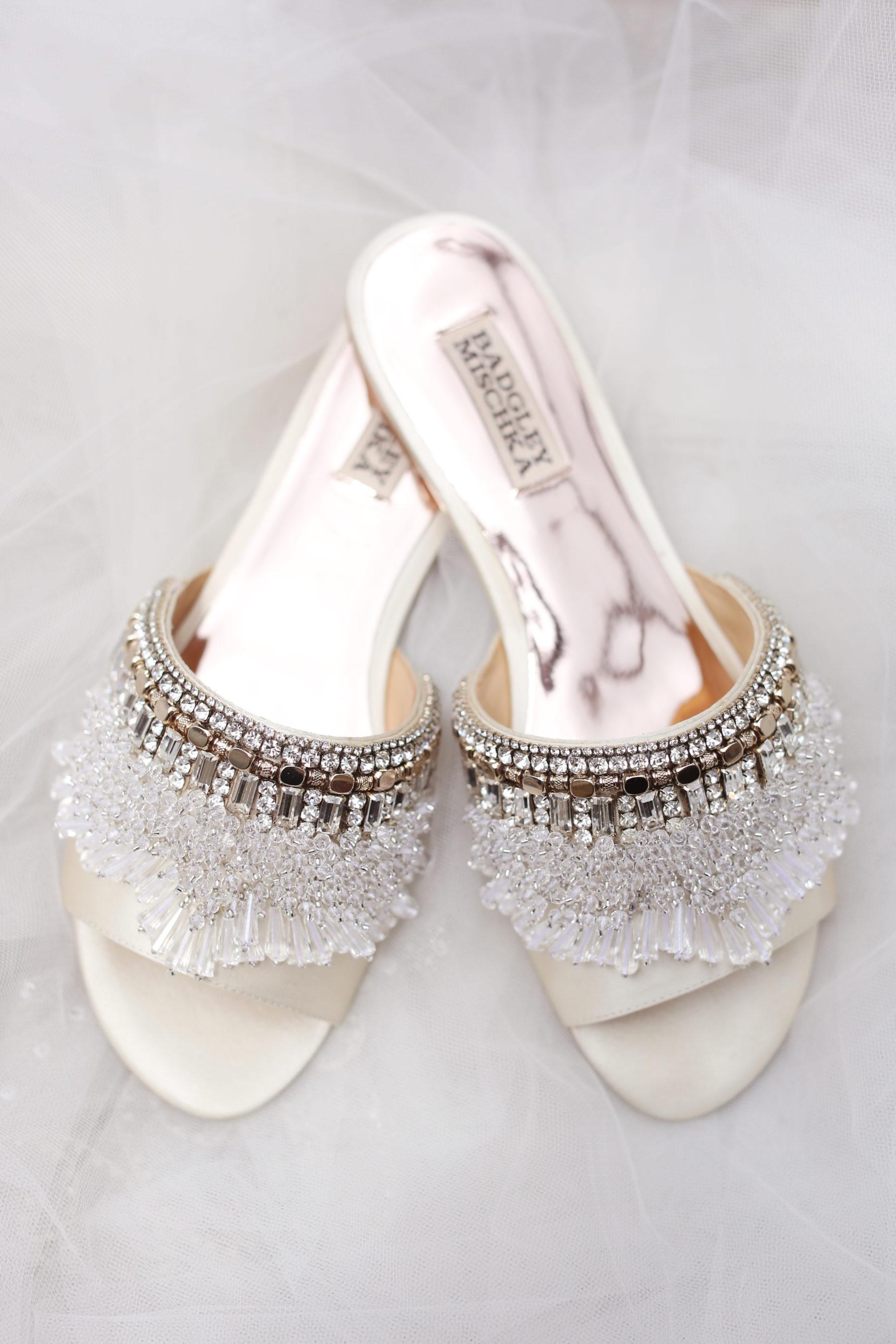 Badgley Mischka Bridal Shoes featured on Nashville Bride Guide