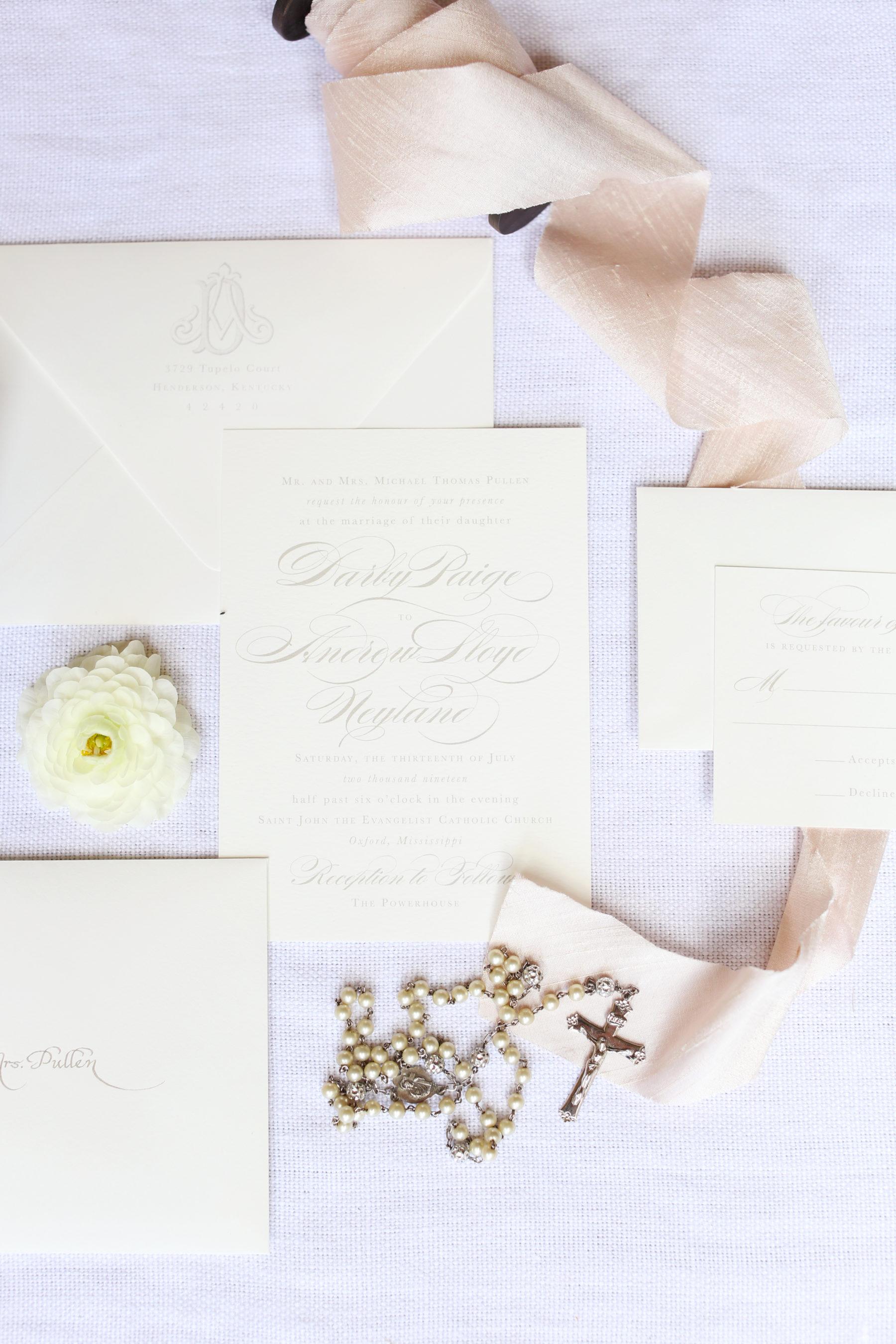 Empress Stationery featured on Nashville Bride Guide