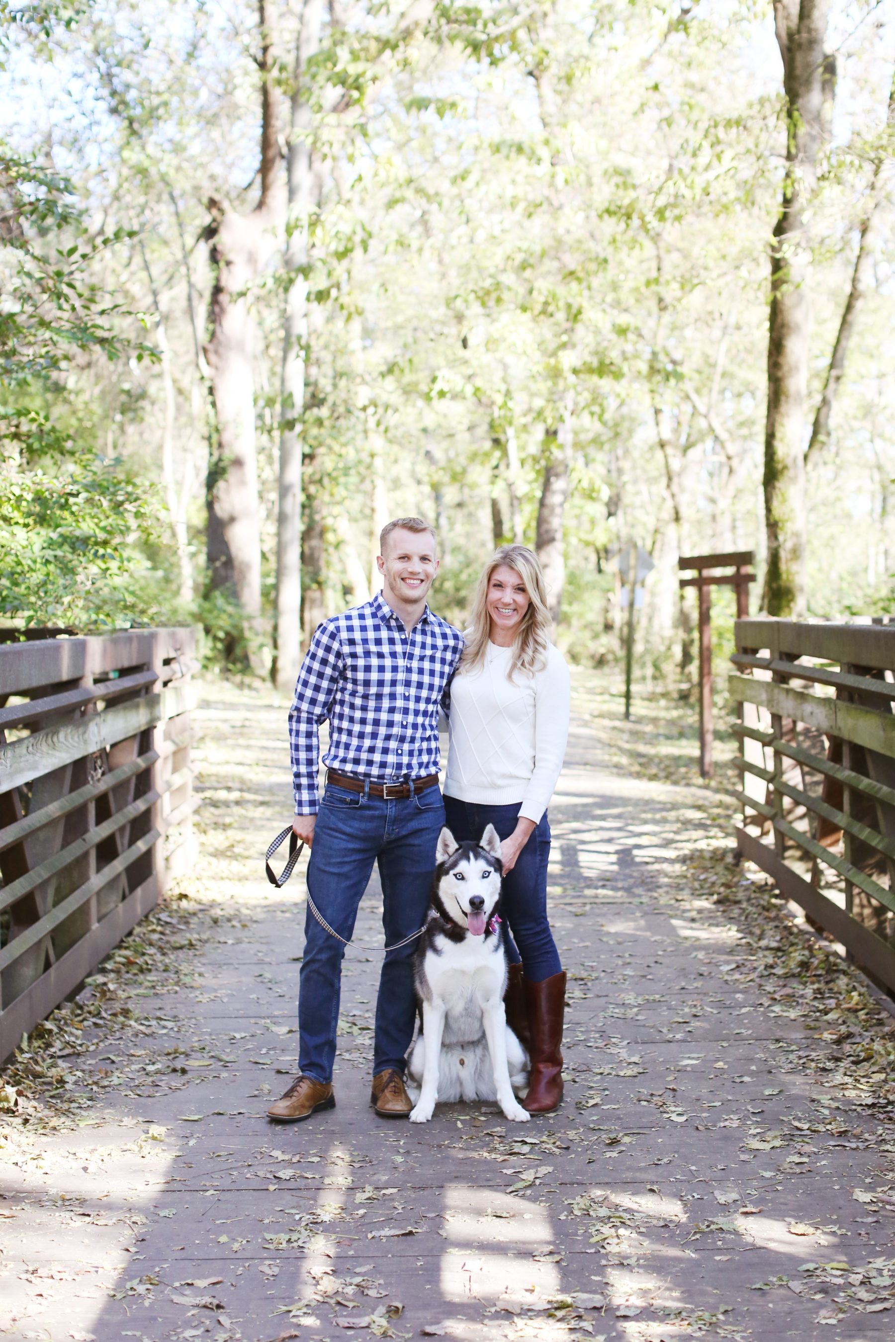 Charming Nashville Engagement Session featured on Nashville Bride Guide