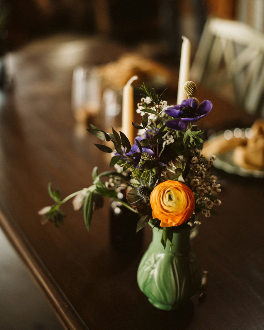 Intimate Spring Wedding at Private Residence featured on Nashville Bride Guide