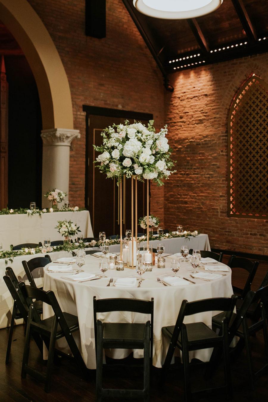 Soft Pink Clementine Hall Wedding featured on Nashville Bride Guide