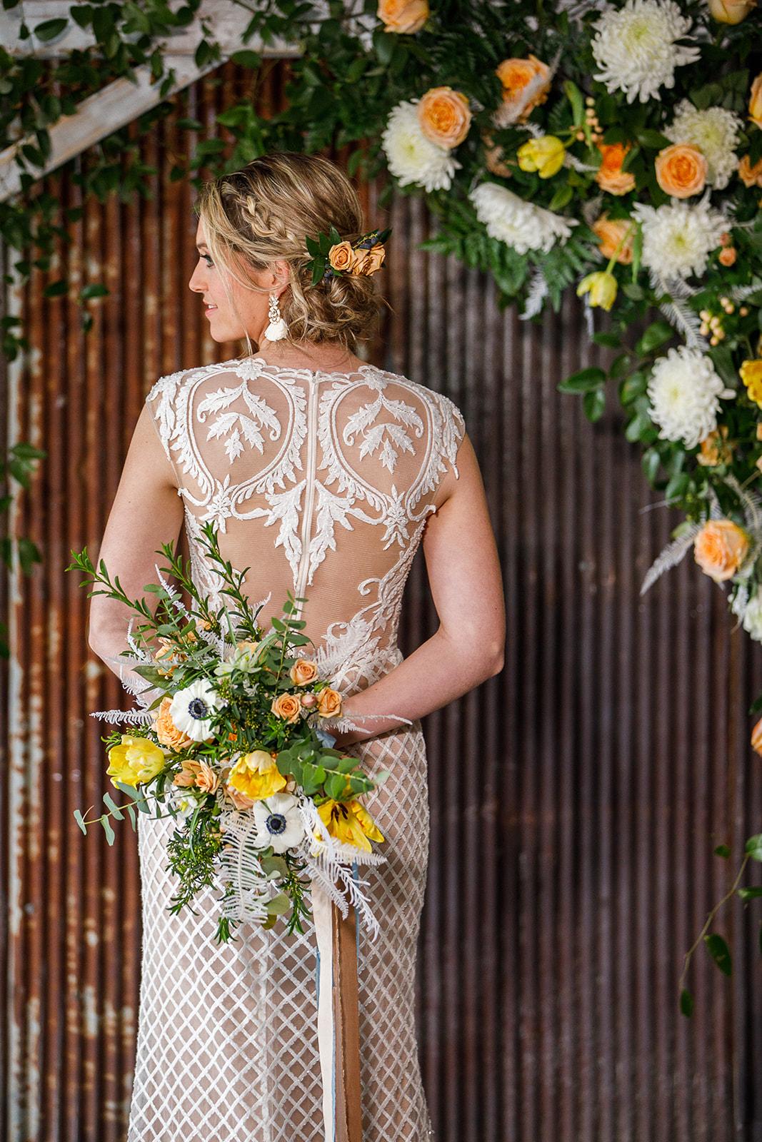 Wedding Dress Inspiration: Courtney Davidson Wedding Photography featured on Nashville Bride Guide