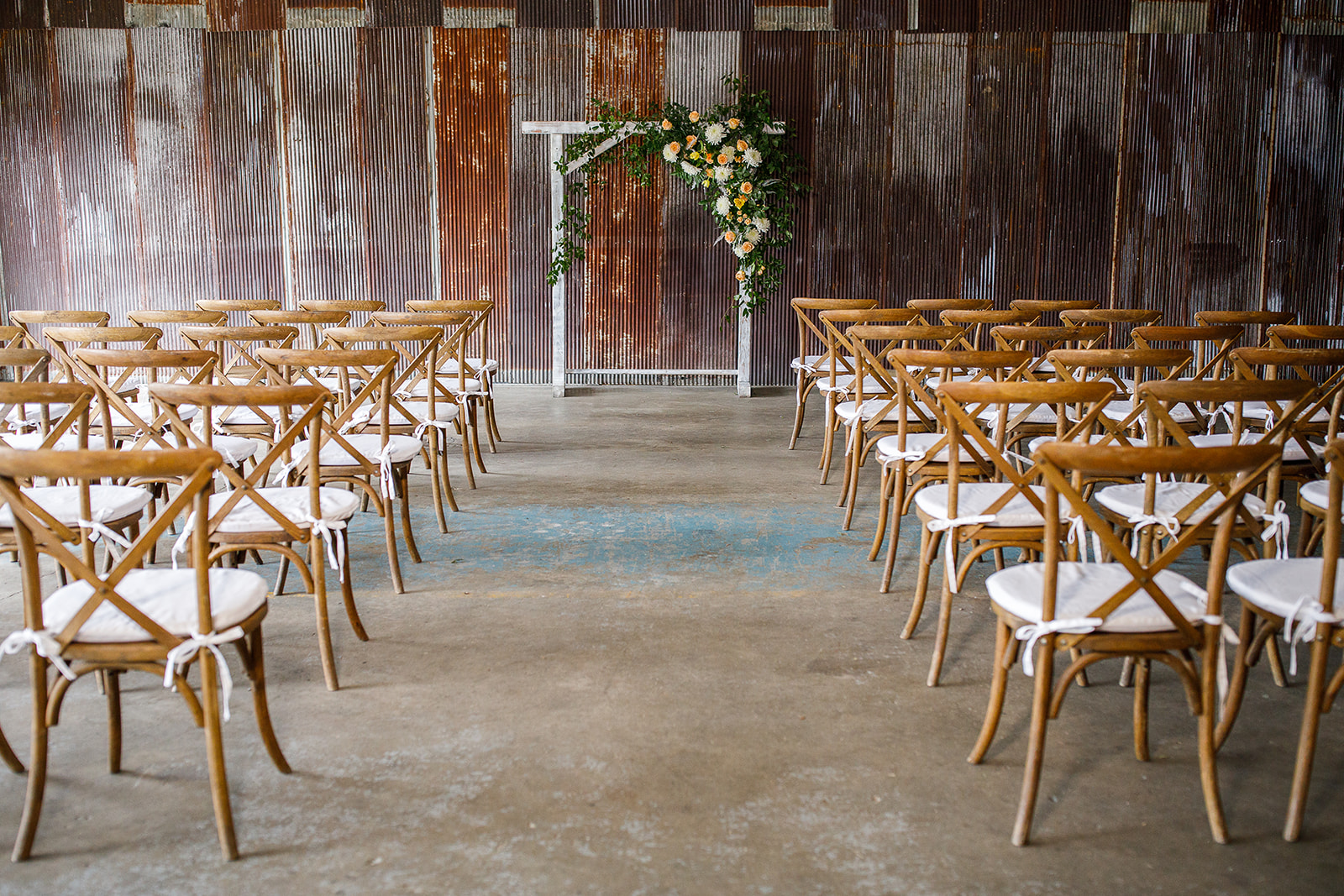 Wedding Ceremony Inspiration: Southern Wedding Styled Shoot by Nashville Wedding Planners Group