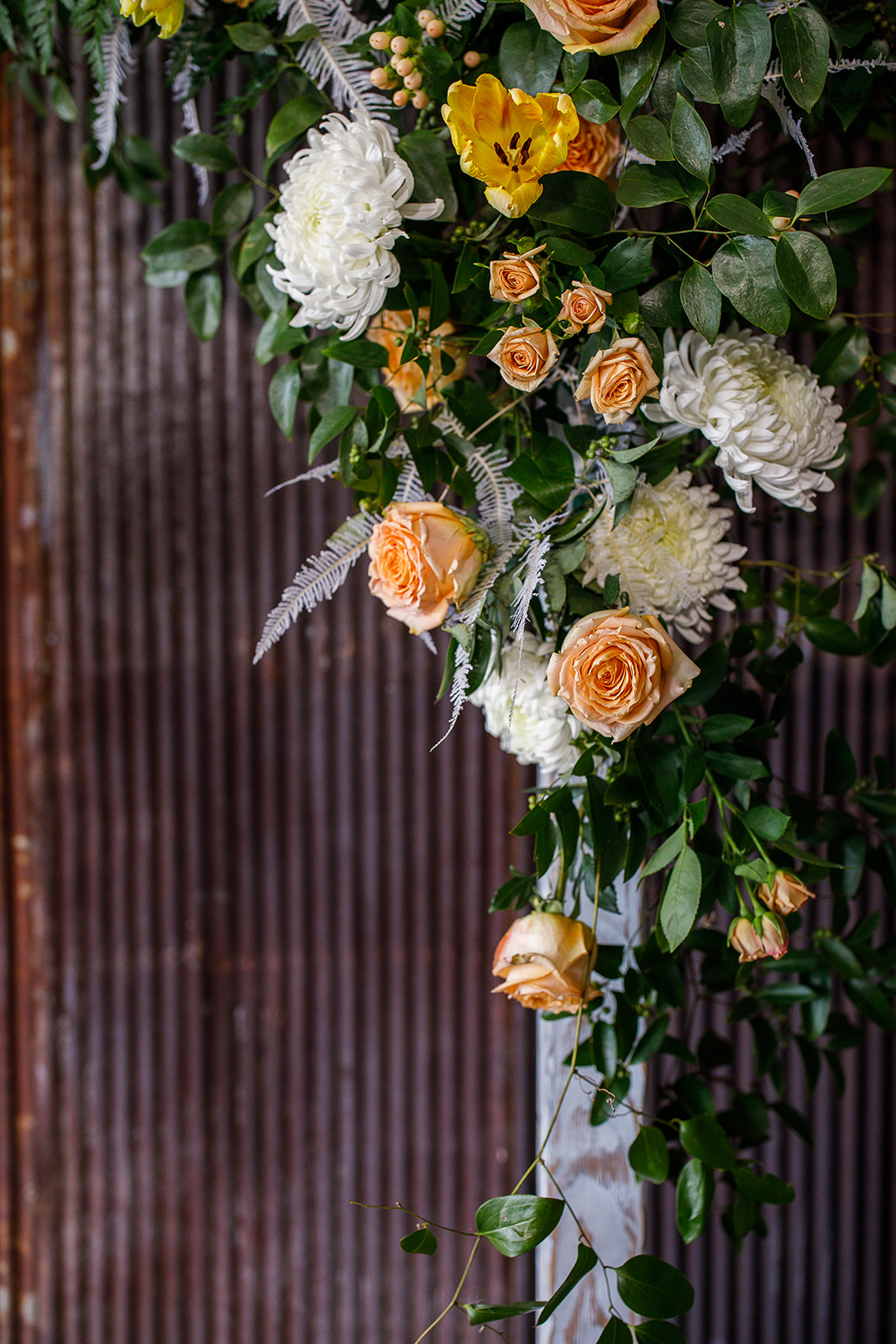 Wedding Ceremony Backdrop: Southern Wedding Styled Shoot by Nashville Wedding Planners Group