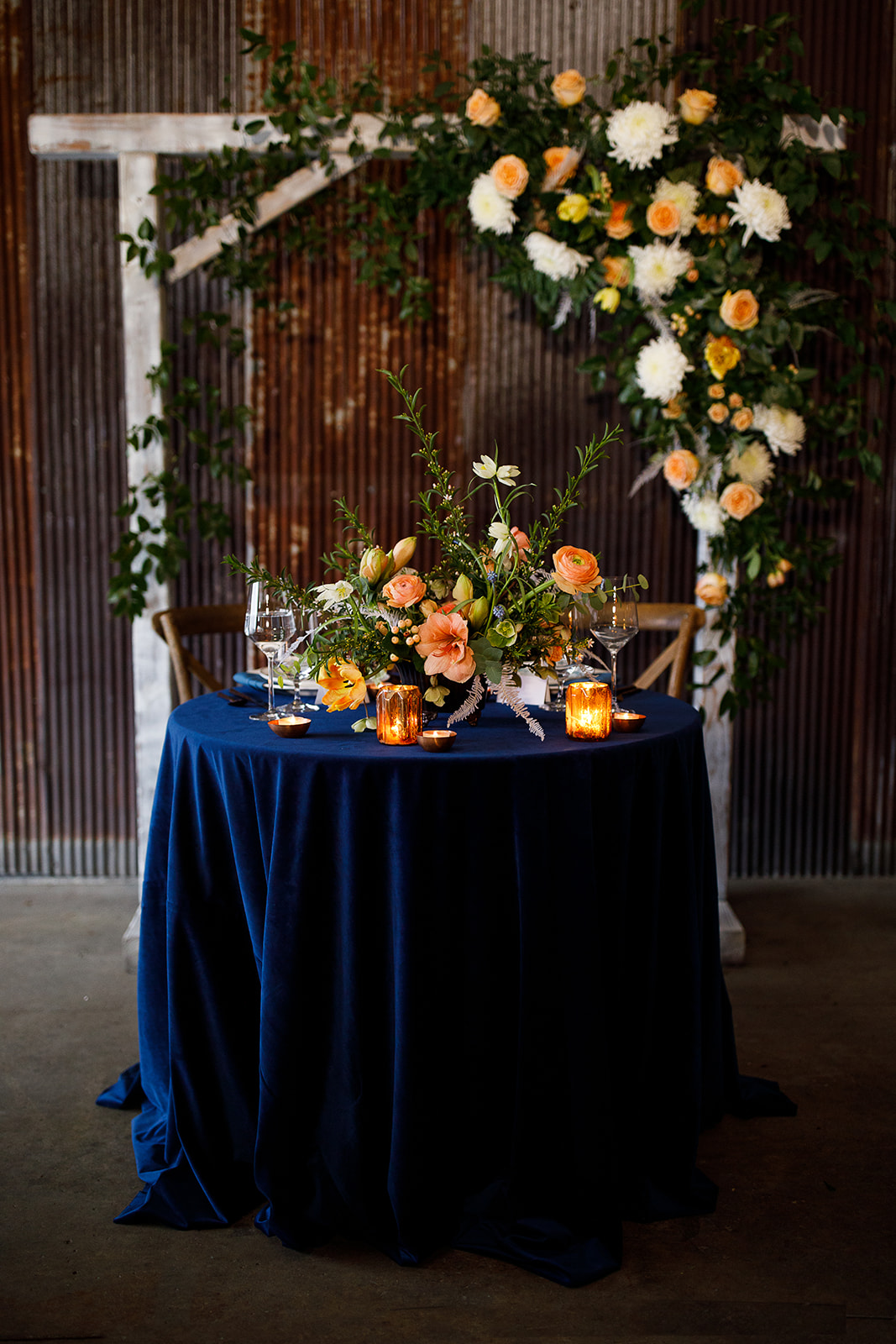 Wedding Sweetheart Table: Southern Wedding Styled Shoot by Nashville Wedding Planners Group