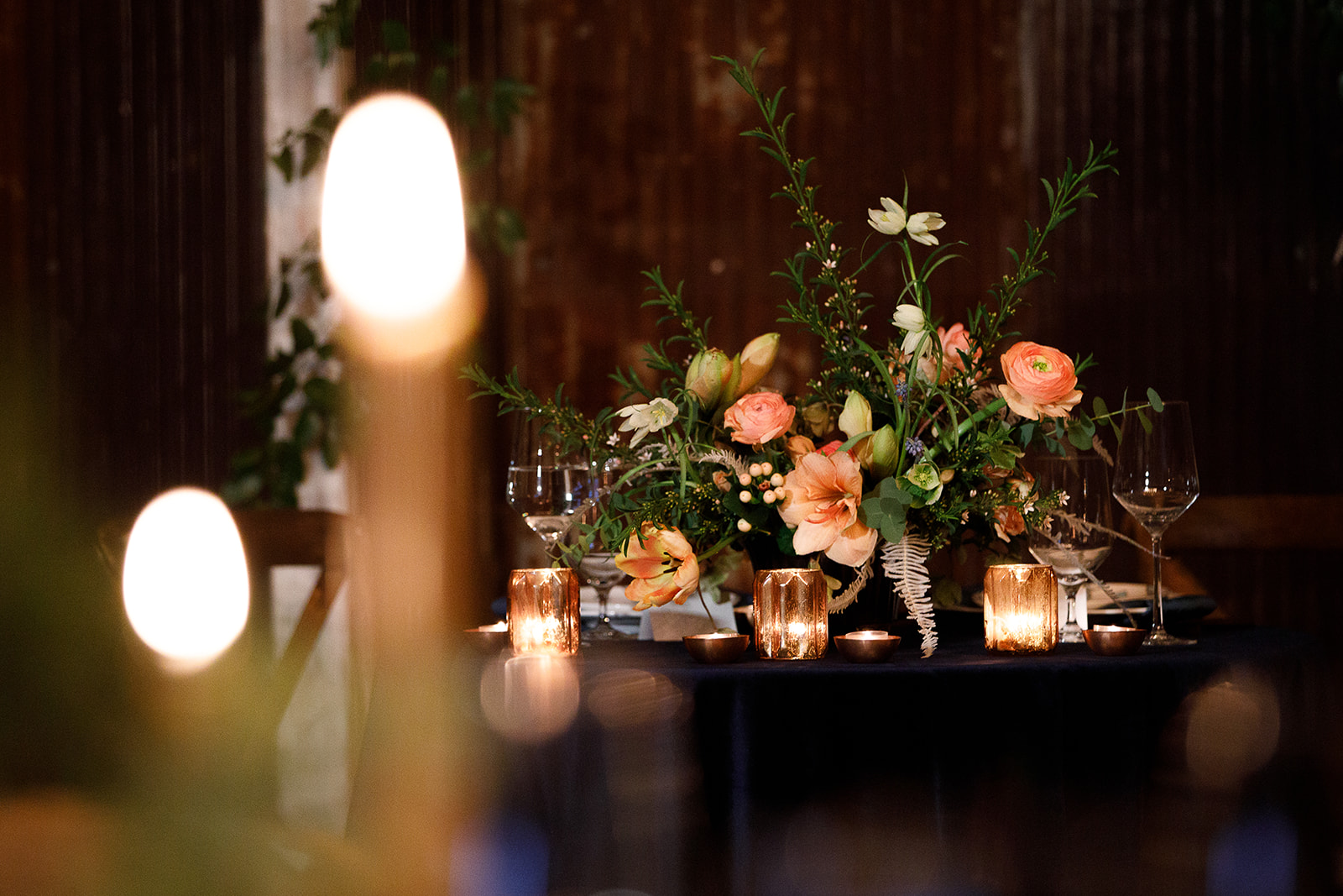 Wedding Reception Decor: Southern Wedding Styled Shoot by Nashville Wedding Planners Group