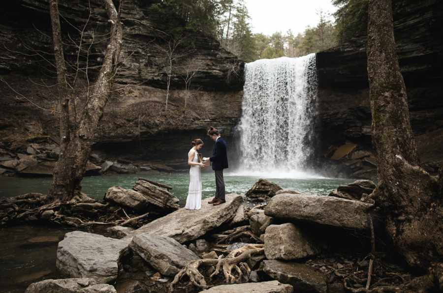 Elopement Inspiration with Promise Mountain featured on Nashville Bride Guide