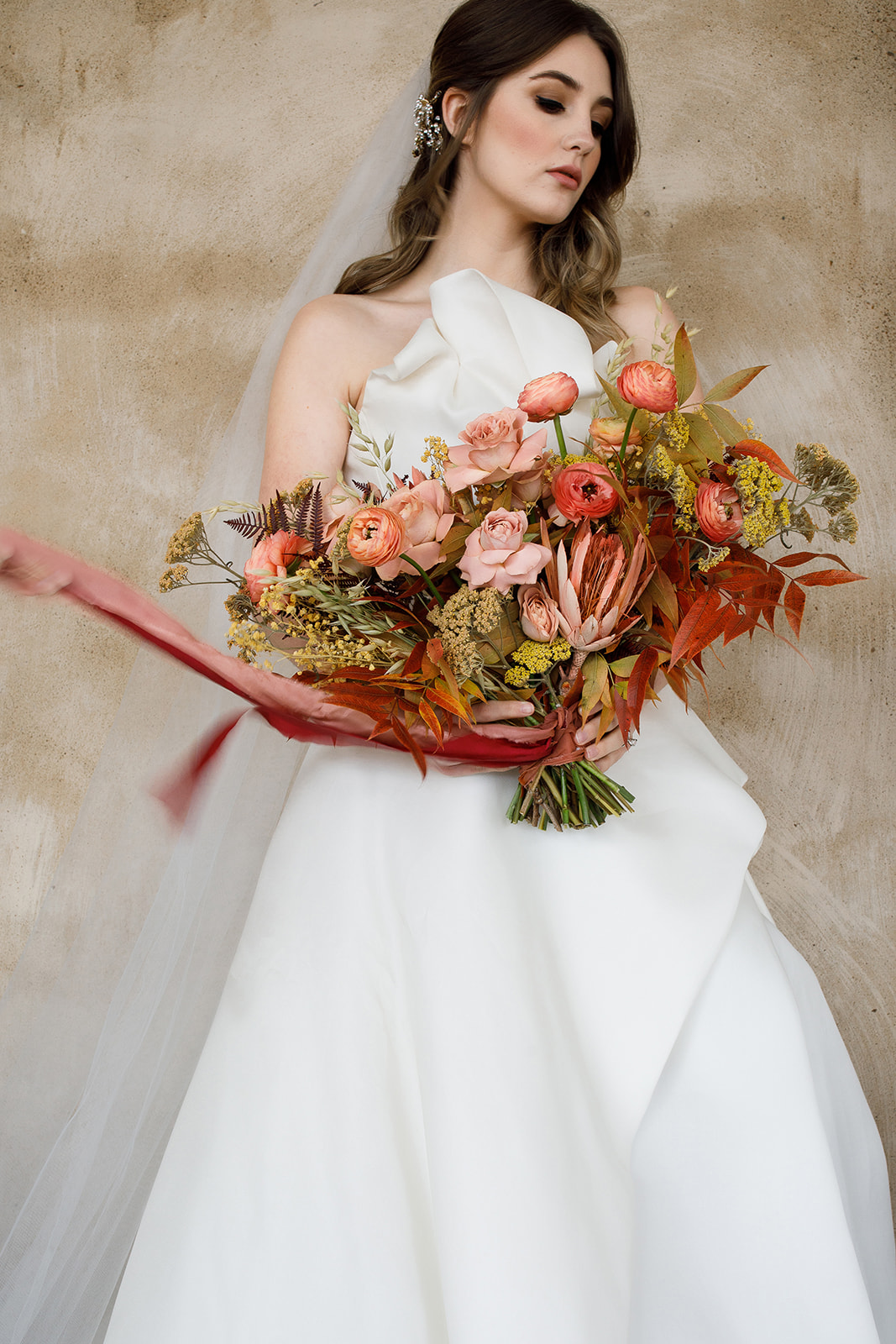 Warm & Luxurious Styled Shoot by Perfect Day Beauty featured on Nashville Bride Guide