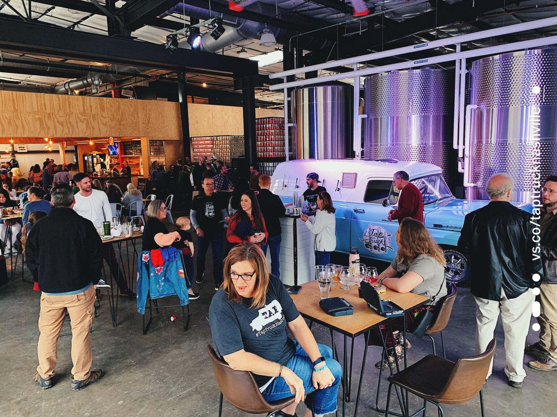 Tap Truck Nashville Launch Party featured on Nashville Bride Guide