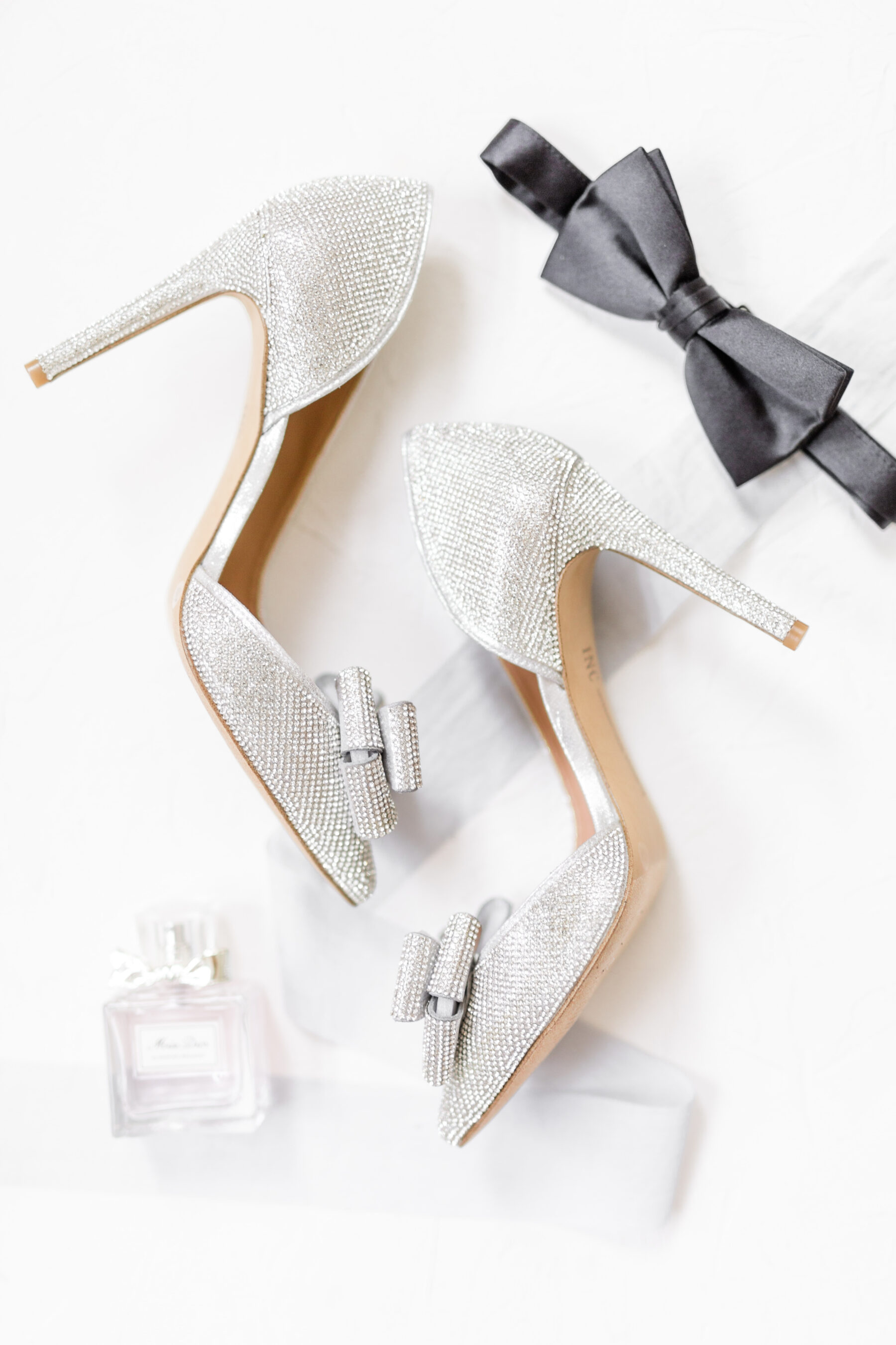 Sparkly silver wedding shoes: Classic, Yet Modern New Years Eve Wedding Inspiration featured on Nashville Bride Guide