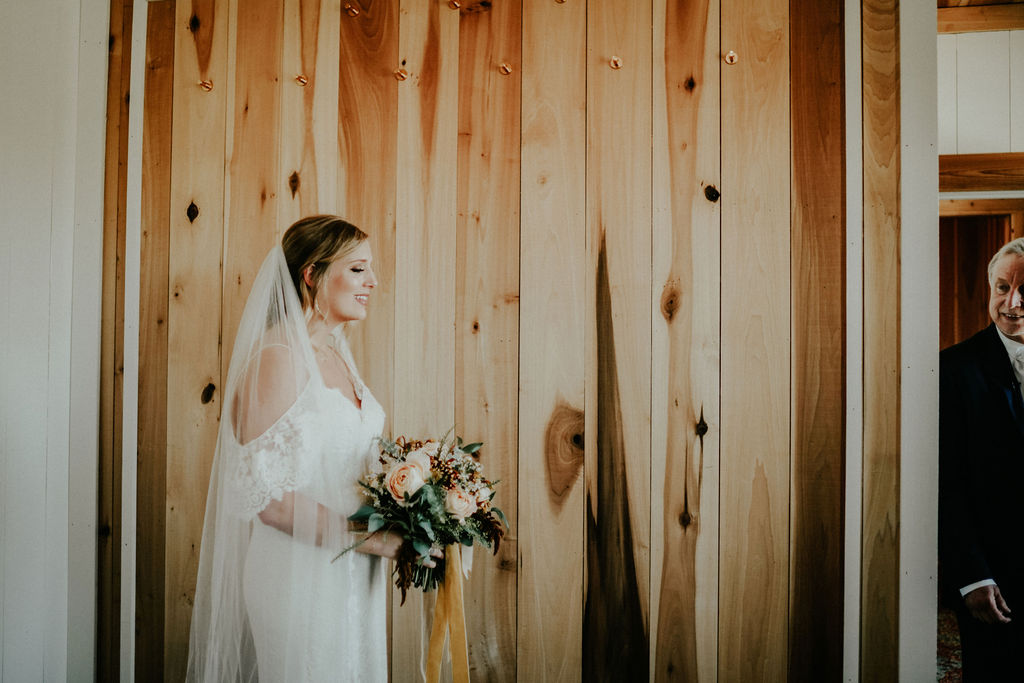 Father daughter first look: Glenai Gilbert Photography featured on Nashville Bride Guide