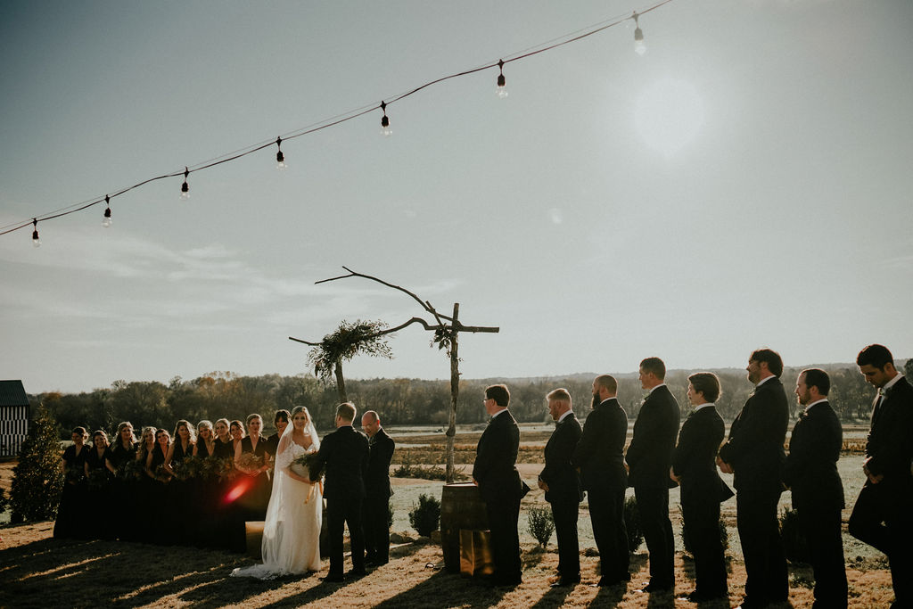 Wedding ceremony photos: Glenai Gilbert Photography featured on Nashville Bride Guide