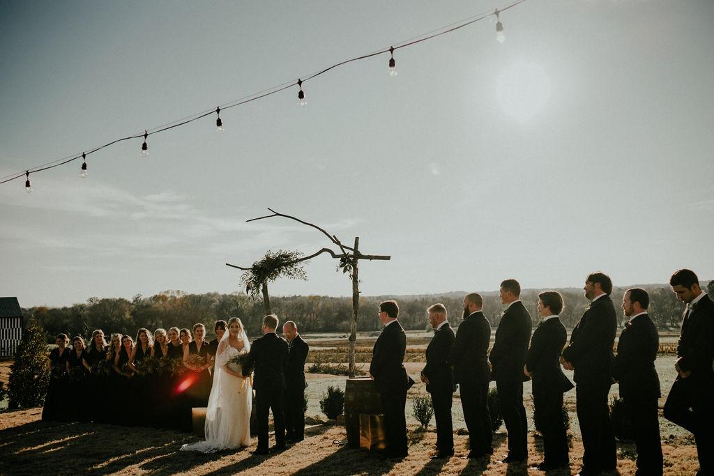 Wedding ceremony photos: Glenai Gilbert Photography featured on Nashville Bride Guide