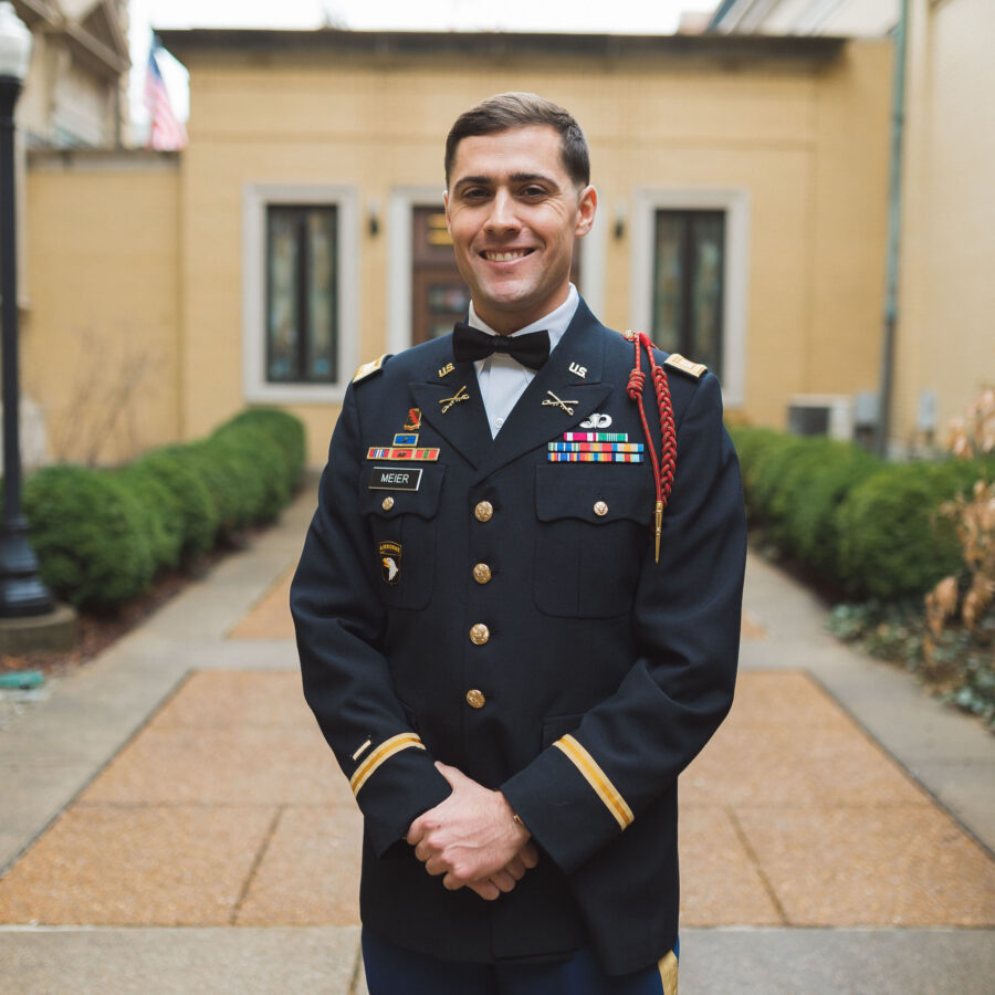Military wedding: Classic Winter Wedding by Details Nashville