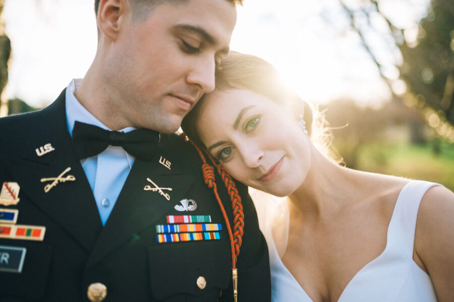 Military Nashville wedding featured on Nashville Bride Guide