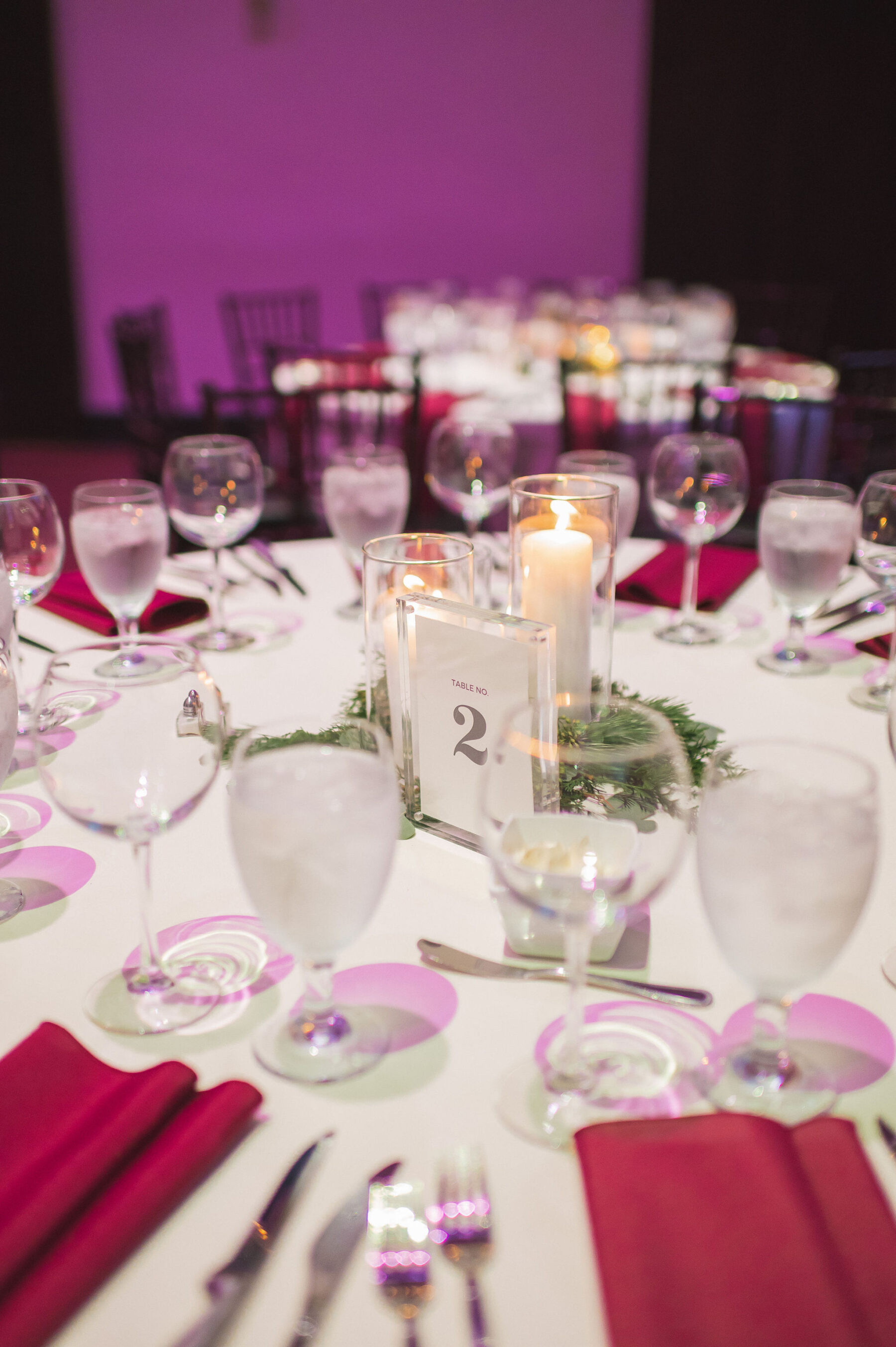 Wedding table decor: Classic Winter Wedding by Details Nashville