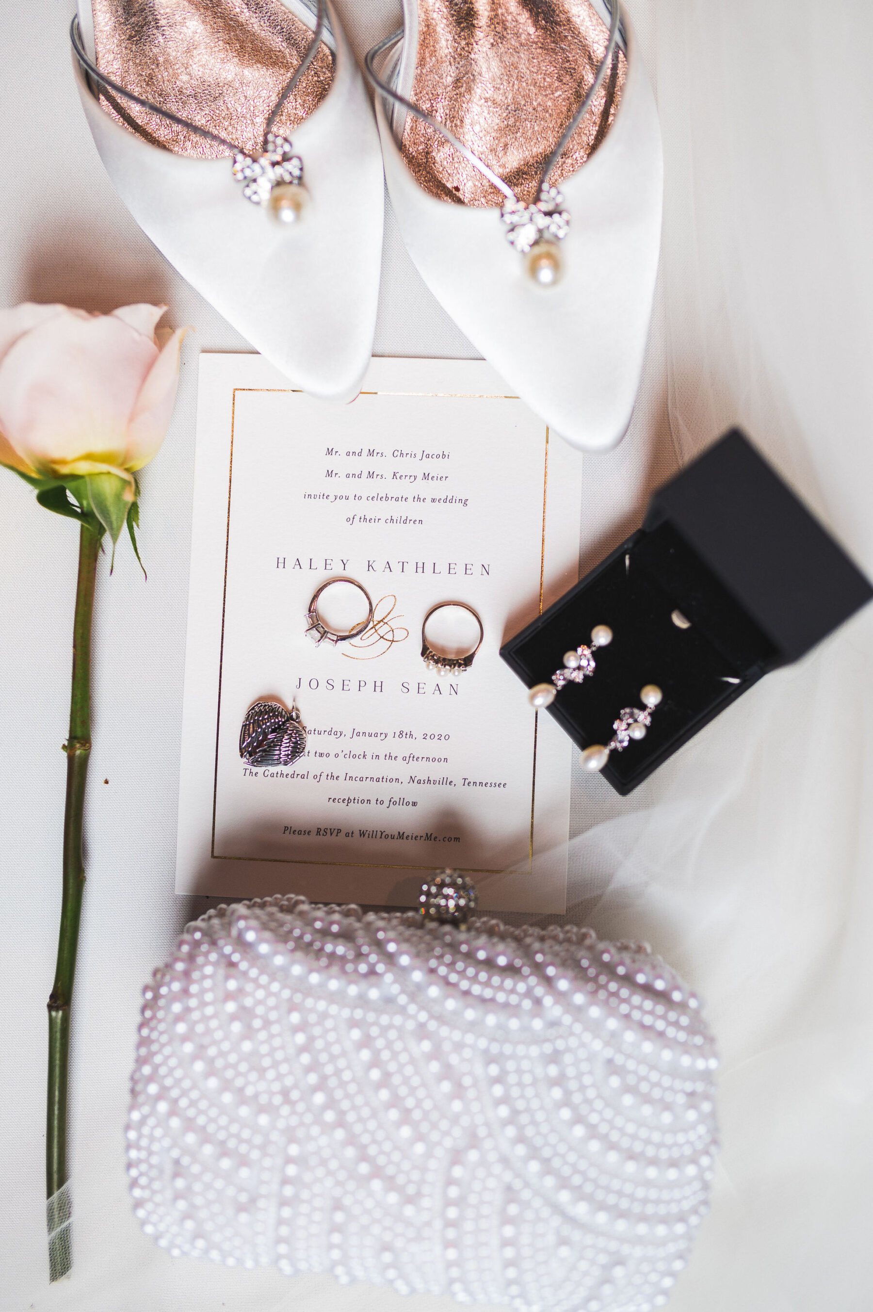 Wedding day details: Classic Winter Wedding by Details Nashville