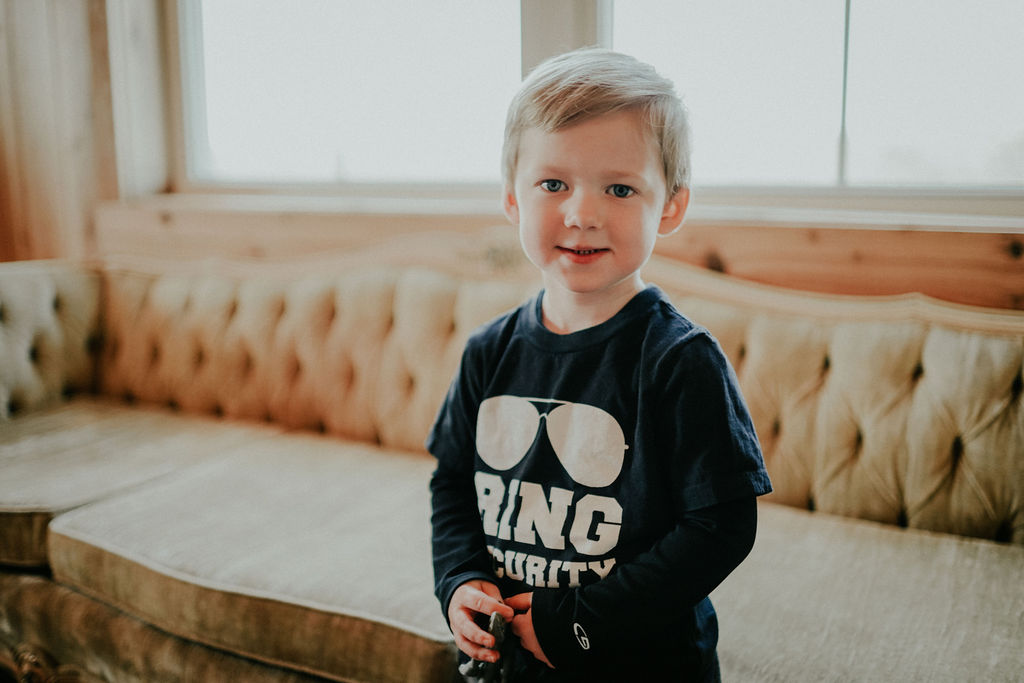 Ring bearer: Glenai Gilbert Photography featured on Nashville Bride Guide