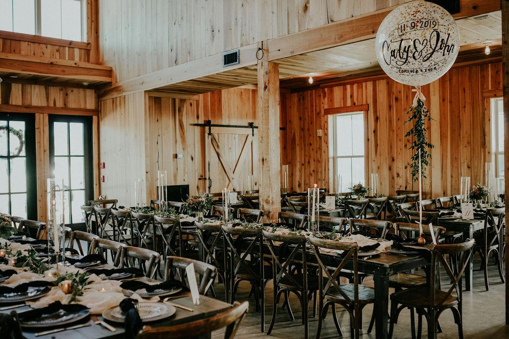 Barn wedding reception: Boho Barn Wedding by Melissa Marie Floral Designs