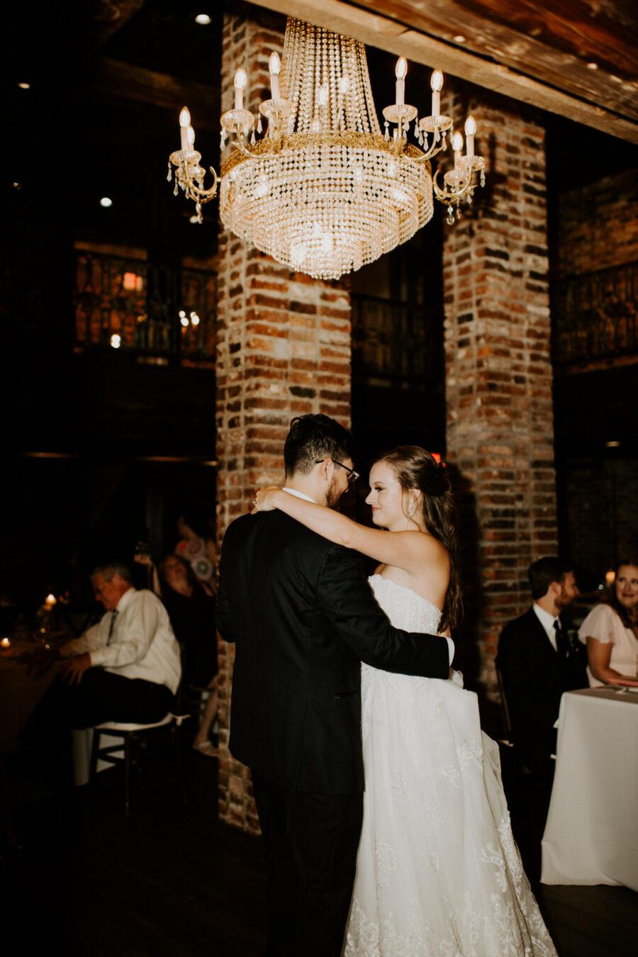 Wedding first dance: Romantic Nashville Wedding at The Bedford featured on Nashville Bride Guide
